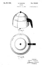 Farber Broiler Patent D-148,445 closed