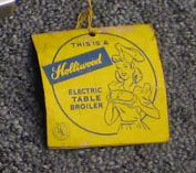 Holliwood Broiler - hang tag