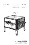Armstrong Perc-O-Toaster Toaster Component Design Patent D-78702