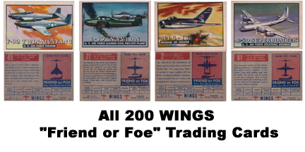 The WINGS Friend or Foe Trading Cards