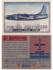 Card 014 of the Wings Friend or Foe series The Short Sunderland Flying Boat