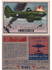 Card 037 of the Wings Friend or Foe series  The Curtiss-Wright CW-20/C-46 Commando