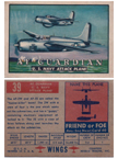 Card 039 of the Wings Friend or Foe series  The Grumman AF-15 Guardian
