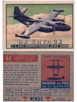 Card 044 of the Wings Friend or Foe series  The North American AJ (NA-146) Savage