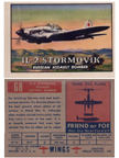 Card 068 of the Wings Friend or Foe series  The Ilyushin IL-2 Shturmovik