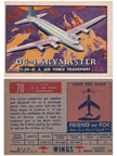 Card 070 of the Wings Friend or Foe series  The Douglas C54 Skymaster