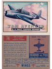 Card 074 of the Wings Friend or Foe series the Grumman TBF Avenger