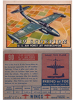 Card 090 of the Wings Friend or Foe series  Northrop F-89 Scorpion