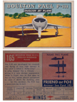 Card 165 of the Wings Friend or Foe series  Boulton-Paul P.111