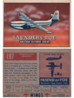 Card 179 of the Wings Friend or Foe series  de Havilland Canada DHC-1 Chipmunk